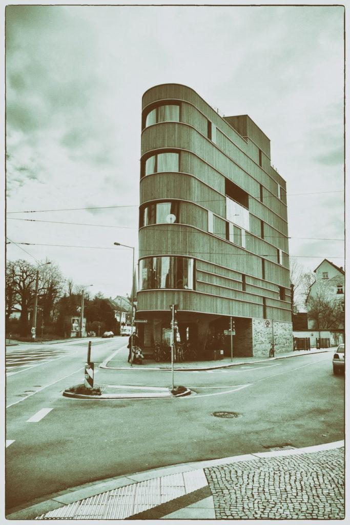 Holzhaus in Lindenau